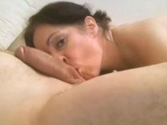 Dicke Hausfrau im Privatporno