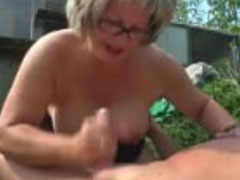 Deutsche oma beim sex