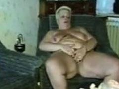 Fette Hausfrau gevögelt im alten Vintage Porno