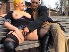 Fette deutsche Punk Fotze ficken