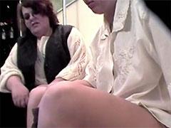 Dicke Hausfrauen heimlich gefilmt