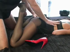 Nylon Fetisch Porno