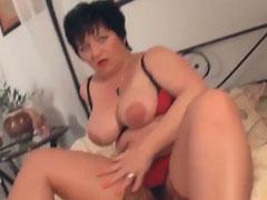 Cougar anal porn