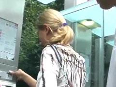 Junge Blondine im deutschen Amateur Porno
