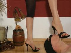 High Heels im Gesicht – Fuss Fetisch Porno