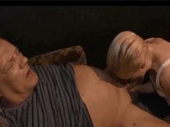 Opa einen Mundfick im Porno Kino verpasst