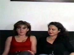 Deutsche Mädels beim Pornocasting