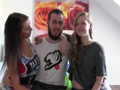 Gruppensex in deutschen Schlafzimmern
