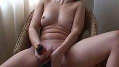 Masturbieren vor der Kamera