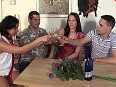 Swingerparty mit Gruppensex und geilen deutschen Blondinen